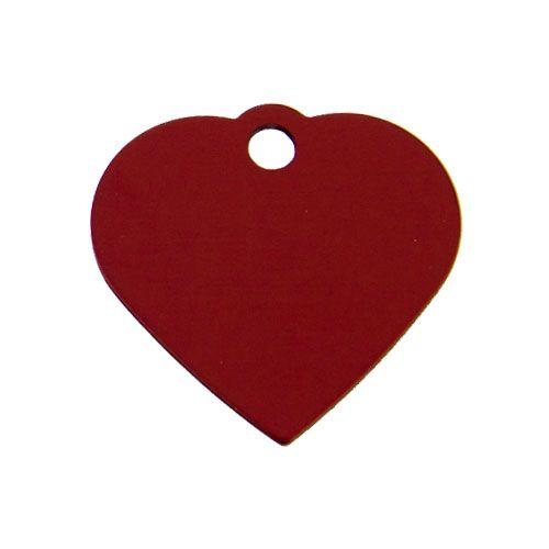 Hundemarke klein Herz 2,5 x 2 cm
